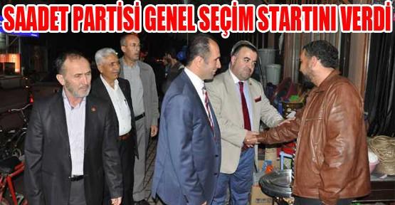 Saadet Partisi İnegöl'de Seçim Startını Verdi.