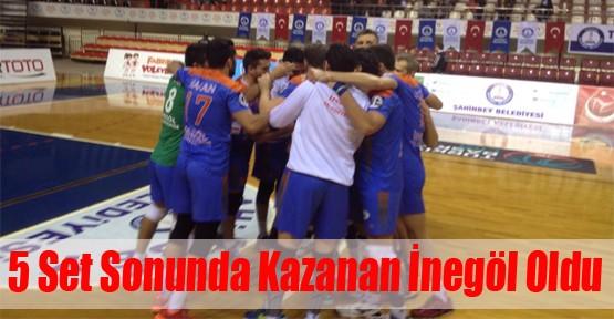 Şahinbey Belediyespor: 2 - İnegöl Belediyespor: 3