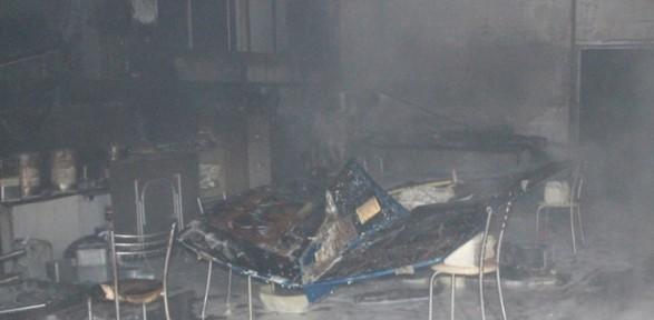 Sakarya Üniversitesi'nde Yangın !
