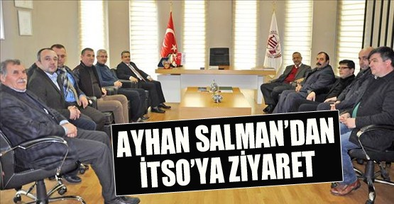Salman'dan İtso'ya Ziyaret