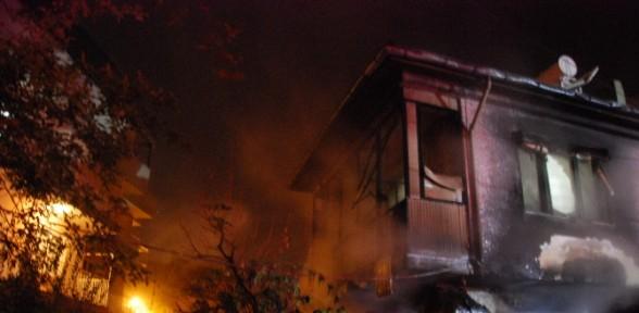 Sığınma Evinde şüpheli Yangın