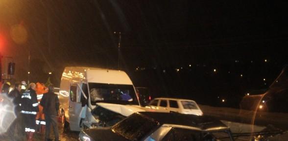 Sinop'ta Feci Kaza: 2 ölü, 3 Yaralı