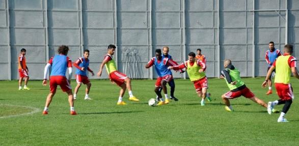 Sivasspor Bursaspor Hazırlıklarını Sürdürüyor