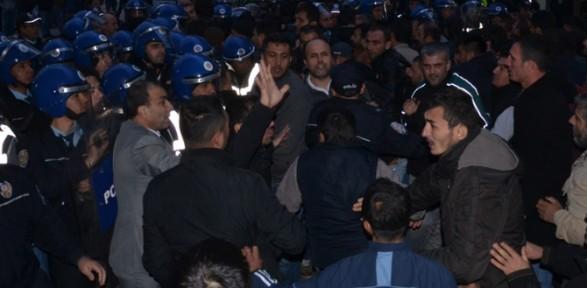 Soma'da ''maaşımızı Alamadık'' Eylemi