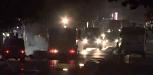 Sultangazi'de Korsan Gösteriye Polis Müdahalesi