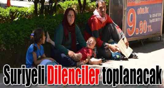 Suriyeli dilenciler kamplarda toplanacak