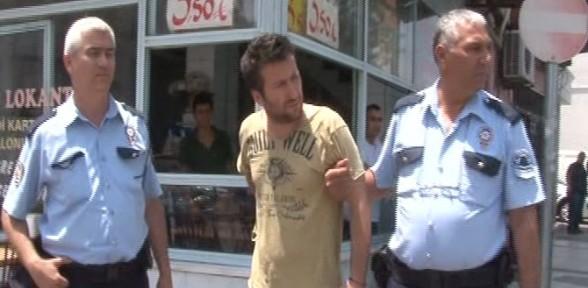 Tacizle suçlanan polis dehşet saçtı