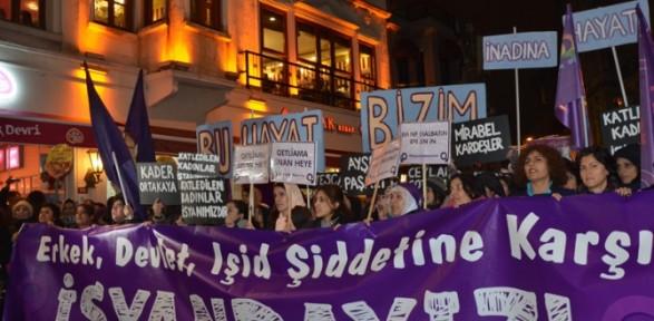 Taksim'de şiddete ''isyan'' Ettiler