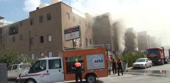 Tekstil Fabrikasında Yangın Ve Patlama: 5 Yaralı