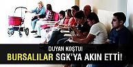 Bursalılar sgk#039;ya akın etti!