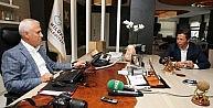 Bursaspor Yönetiminden Bozbeye Teşekkür Ziyareti