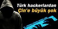Türk hackerlardan Çin#039;e büyük şok