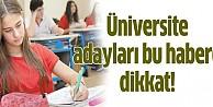 Üniversite tercihi yapacaklar dikkat