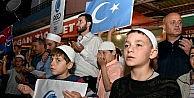 Yurt genelinde Uygur Türkleri için dua ve protesto!