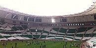 Bursaspor#039;da çim isyanı!