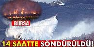 Bursa#039;daki orman yangını söndürüldü