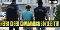 Nefes Kesen Kovalamacada Yakalanan Uyuşturucu Taciri Gençler Tutuklandı