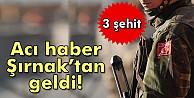 Şırnak#039;ta askere mayınlı saldırı: 3 şehit