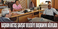 Aktaş, Şavşat Belediye Başkanını Ağırladı