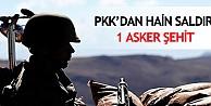 Diyarbakırda hain saldırı: 1 şehit