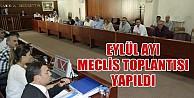 İnegöl belediyesi eylül ayı meclis toplantısı yapıldı