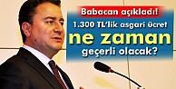 Ali Babacan#039;dan asgari ücret açıklaması!