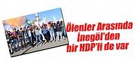 Ankara#039;da patlama! Ölenler arasında İnegöl#039;den bir HDP#039;li de var