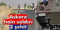 Diyarbakır'da askere saldırı: 2 şehit