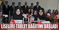 İnegöl#039;de Okullara Tablet Dağıtımı Başladı