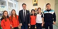 Milli Judoculardan Başkan Dündara Ziyaret