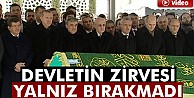 Abdullah Gül#039;ün kayınpederi son yolculuğuna uğurlandı