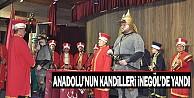 Anadolu#039;nun Kandilleri İnegöl#039;de Yandı