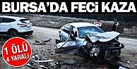 Bursada Aşırı Hız Kazaya Neden Oldu: 1 Ölü, 4 Yaralı