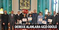 Derece Alanlara Gezi Ödülü