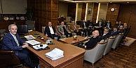 Sanayicilerden Başkan Altepeye Ziyaret