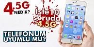 10 soruda 4.5G! İşte 4.5G uyumlu telefonlar...