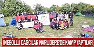 İnegöllü Dağcılar Narlıdere#039;de Kamp Yaptılar
