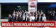 İnegöllü Mobilyacılar Kayseri Fuarında