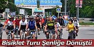 Bisiklet turu şenliğe dönüştü!