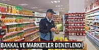 İnegöl#039;de bakkal ve marketler denetlendi