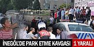 İnegöl#039;de Park Etme Kavgası;1Yaralı