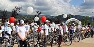 Sağlıklı Nesiller Yetiştirmek İçin Binlerce Gence Bisiklet Dağıttılar
