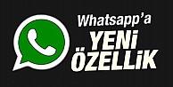 WhatsApp#039;a bomba gibi özellik