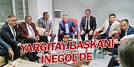 Yargıtay Başkanı İsmail Rüştü Cirit İnegöl#039;de