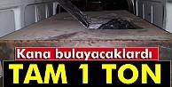 Diyarbakırda ele geçirilen bomba yüklü minibüste 1 ton patlayıcı tespit edildi