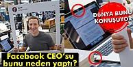 Facebook CEO#039;sundan hackerlara karşı 'bantlı önlem