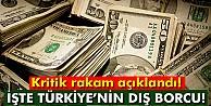 Türkiye#039;nin dış borcu 412 milyar dolar
