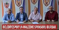 Belediyesporun Malzeme Sponsoru Burbak