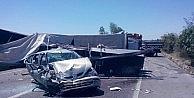 Bursada TIRın lastiği patladı: 7 yaralı
