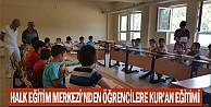 Halk Eğitim Merkezi#039;nden Öğrencilere Kur#039;an eğitimi